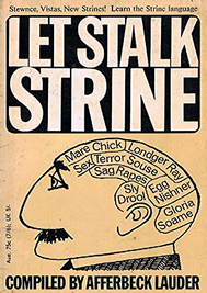 Let Stalk Strine!